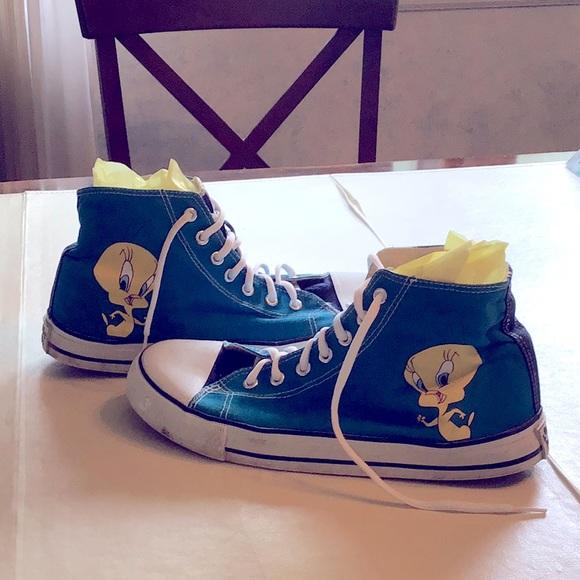 Tweety Bird CONVERSE shoes